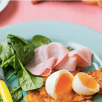 Verity Charles's Sweet Potato Hash Browns With Eggs And Ham